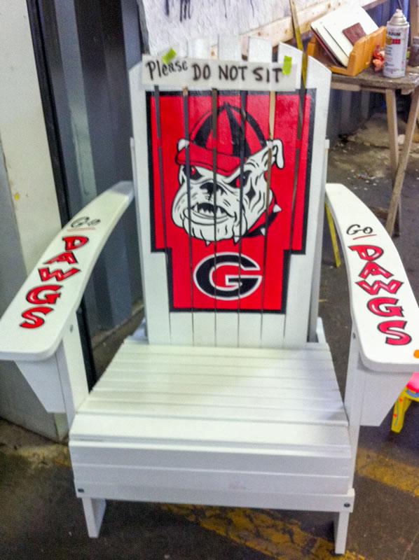 Georgia Bulldogs Adirondack ...